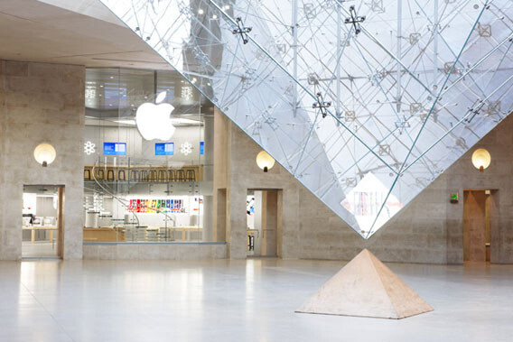 Paris, Carrousel du Louvre - A decade of Apple Stores and the case for brand identity