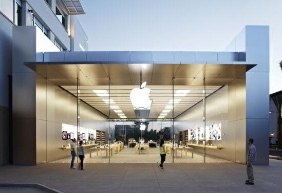 See-through store in Scottsdale, AZ - A decade of Apple Stores and the case for brand identity