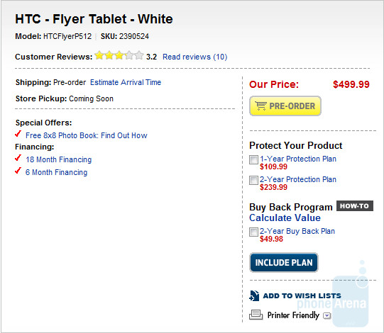 This internal Best Buy memo (L) says that the HTC Flyer can be purchased now from locations with inventory of the tablet  - Why wait until Sunday? Pick up your HTC Flyer from Best Buy today