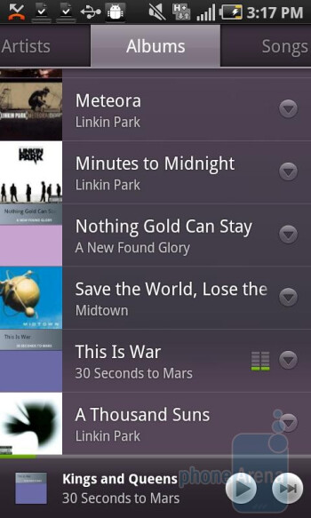 Google Music App for Android