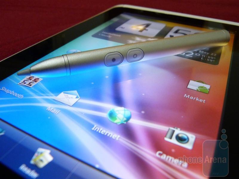 HTC Flyer Stylus Demonstration