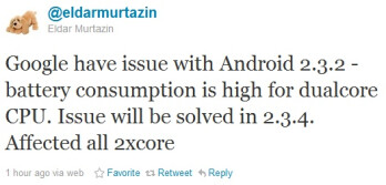 Almost all dual-core Android phones suffering from power consumption issue?