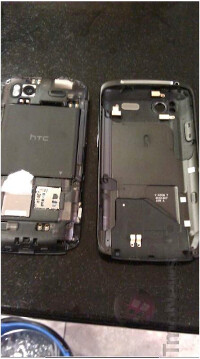 Pictures of the HTC Sensation 4G, expected to launch June 8th at T-Mobile - HTC Sensation 4G smiles for the camera wearing the T-Mobile brand