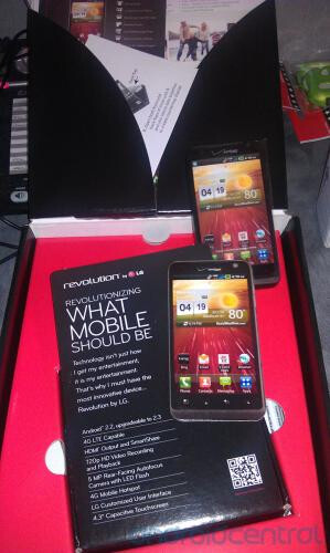 As promo material for the LG Revolution makes it to Verizon, a May 26th rumored launch date nears