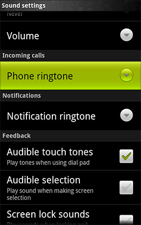 How to set a custom ringtone or notification sound on Android