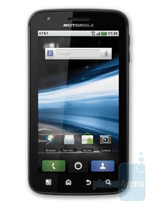 Motorola ATRIX 4G - When is big just too big?