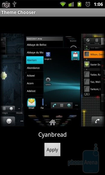 Theme chooser - What is CyanogenMod and why is it good for you