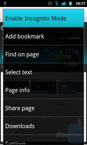 how to use incognito mode in phone