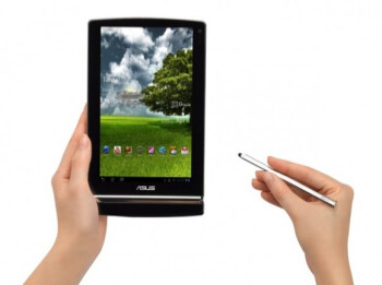 Asus Eee Pad MeMO 3D works with a capacitive stylus as well