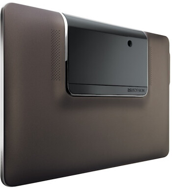 The Asus PadFone shell sports a dedicated compartment for inserting a handset to make a tablet