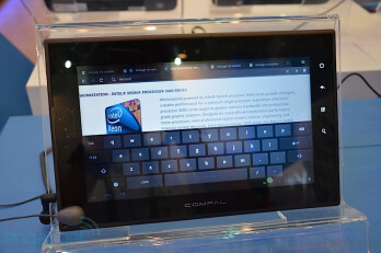 Intel-powered tablets running Android