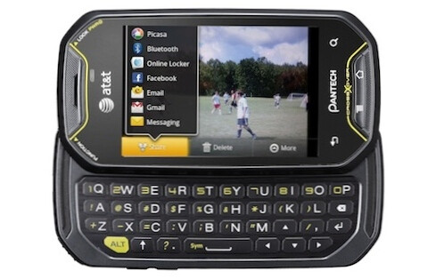 The sporty Pantech Crossover features a 3.1-inch touchscreen and a sliding full-QWERTY keyboard. - Pantech Crossover bound for AT&T with a June 5 release date