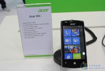 Acer W4 обявен на Computex, захранен е от Windows Phone Mango