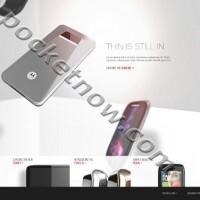 От ляво на дясно - Motorola Tracy XL, Slimline, XOOM 2 и Zaha