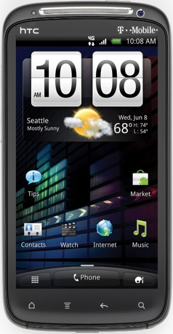 The dual-core HTC Sensation 4G will be available on T-Mobile starting June 15th