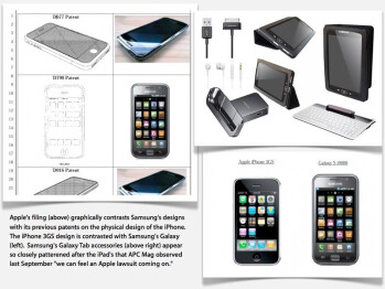 "Samsung says Apple claims of design copying won't be ""legally problematic"""
