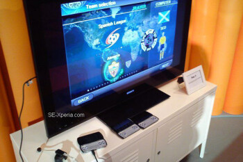 New images show the Sony Ericsson Xperia PLAY with HDMI-out functionality