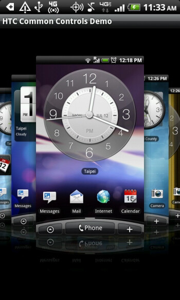 Applications tweaked for HTC's Sense will look and feel like Sense with Common Controls