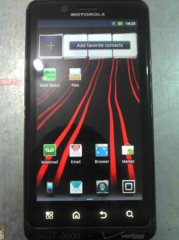 Leaked images of the Motorola DROID BIONIC show a subtle redesign and more
