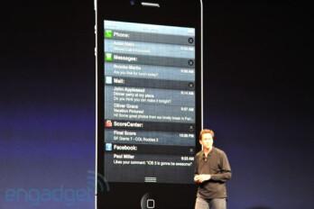 iOS 5 Notification Center
