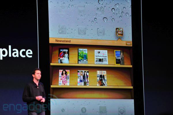 Newsstand - Apple announces iOS 5, a major release
