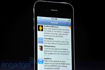 Twitter integration in iOS 5