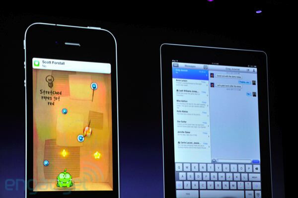 iMessage is an instant messaging network for all iOS users - Apple announces iOS 5, a major release