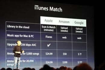 iCloud introduced by Steve Jobs