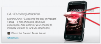 After Sprint Premier customers get their shot at winning 10 free HTC EVO 3D units, the rest of the population gets a crack at instantly winning one of 32 of the handsets