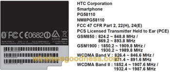 An AT&T variant of the HTC Sensation has made it through the FCC