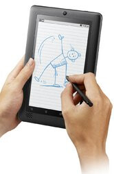 ViewSonic ViewBook 730 comes with a stylus