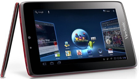 """7"""" ViewSonic ViewPad 7x dual-core Android tablet - ViewSonic goes downmarket with ViewBook 730 and ViewPad 7x Android tablets, starting from $250"""