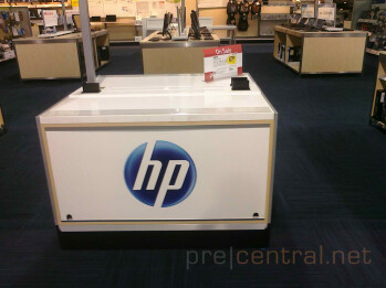 Displays for the HP TouchPad are beginning to appear at Walmart & Best Buy