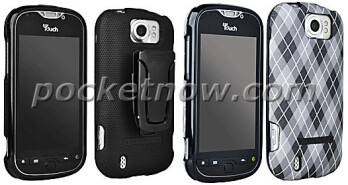 Latest images show the T-Mobile myTouch 4G Slide trying on some fashionable cases