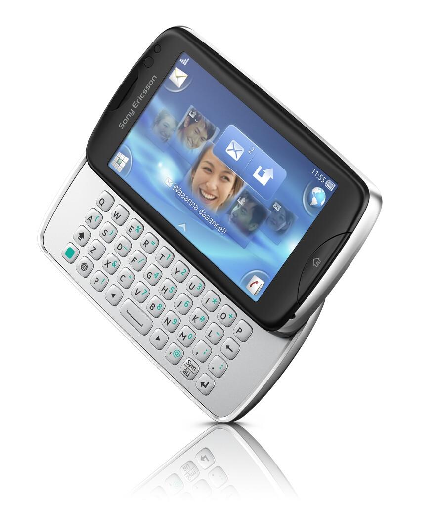 Sony Ericsson txt pro - Sony Ericsson uses Facebook to unveil two new phones: Sony Ericsson Mix Walkman, txt pro