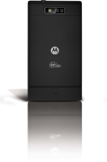 "Motorola TRIUMPH is a cool Android handset for Virgin, with 4.1"" screen and 1GHz CPU"