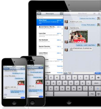 iMessage brings free messaging to iOS 5
