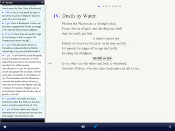 "T.S. Eliot's ""The Waste Land"" becomes official iPad App of the Week, a first for poetry"