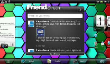 FriendStream widget