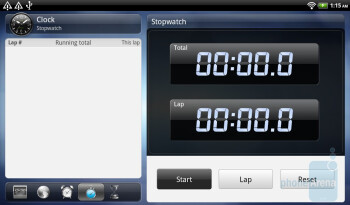 The Clock app