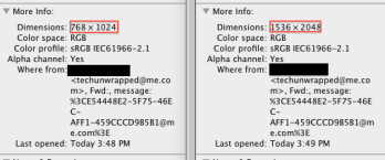 Will the Apple iPad 3 have resolution of 1536 x 2048?