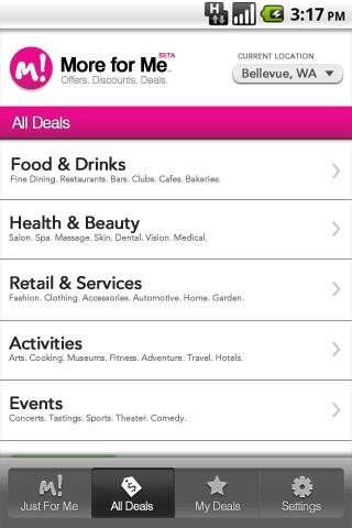 T-Mobile launches 'More for Me' daily deal service for Android