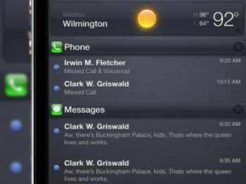 iOS 5 Notification Center themes