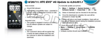 After Monday's OTA update for the EVO 4G, the device will once again support the Netflix app