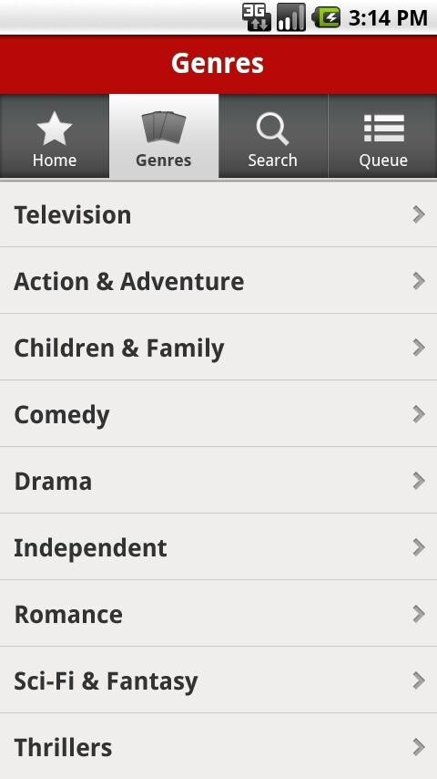 Owners of the Motorola DROID X can now view streaming content from Netflix - Motorola DROID X now supports Netflix app