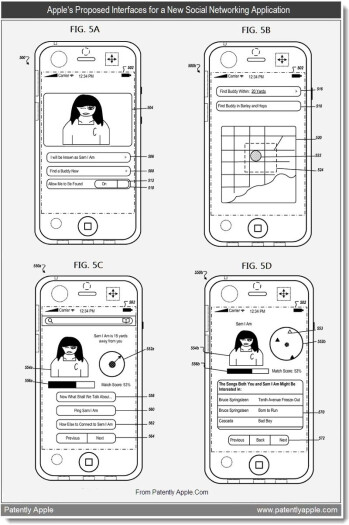 Apple patents proximity-based social networking app