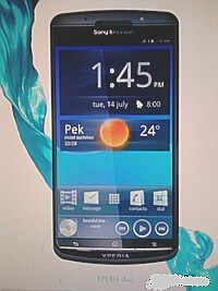 Sony Ericsson Xperia duo leaks, might be the company's first dual-core handset