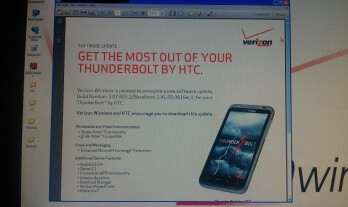 This release notice says that the HTC ThunderBolt will be receiving a major update on June 30th