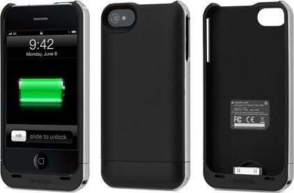 New Mophie Juice Pack Air for the iPhone 4 is available only at Apple Stores for $80