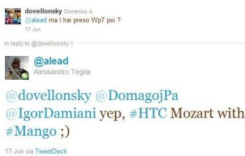 "Windows Phone 7 ""Mango"" update seen running on the HTC HD7 and HTC 7 Mozart"